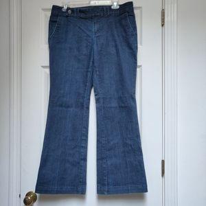 Banana Republic Factory Petites Wide Leg Jeans 10P